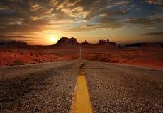 долина США Юты парка navajo нации памятника ландшафта Аризоны соплеменная стоковая фотография rf