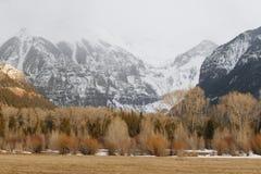 долина теллурида тумана 2 полов Стоковое Изображение RF