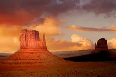 долина утеса памятника образований Стоковая Фотография RF