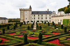 долина Франции loire замка villandry Стоковые Фотографии RF