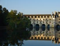 долина Франции loire chenonceau замка Стоковое Фото