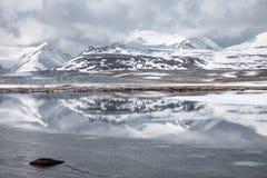 долина Шани kyrgyzstan barskoon tyan Стоковые Изображения