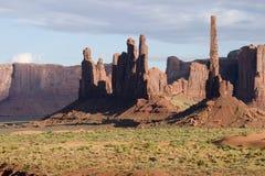 долина 02 памятников Стоковые Изображения