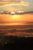 долина 10 охотников Стоковая Фотография