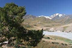 долина 2 гор Стоковое Изображение RF
