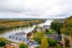 Долина Amboise, Loire, Франция Стоковые Изображения RF