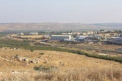 Долина Ayalon в Израиле Стоковая Фотография RF