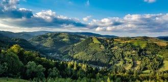 Долина Bistra стоковые изображения rf