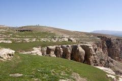 Долина Botan, Siirt, юговосточная Анатолия индюк Стоковые Изображения