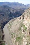 Долина Botan, Siirt, юговосточная Анатолия индюк Стоковое фото RF
