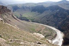 Долина Botan, Siirt, юговосточная Анатолия индюк Стоковая Фотография RF