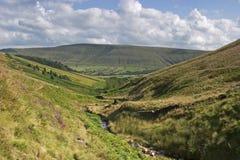 долина edale стоковые фото
