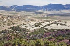 долина Green River Юты Стоковая Фотография RF