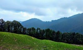 Долина Himachal Pradesh Индия Jibhi стоковая фотография