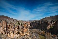 долина ihlara h2 стоковая фотография rf