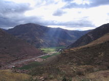 долина inca священнейшая Стоковые Изображения RF