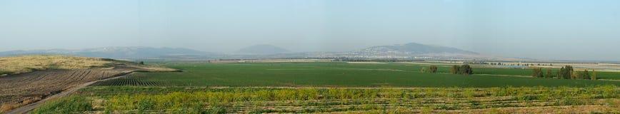 Долина Jezreel сценарий откровения Стоковые Фото
