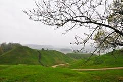 долина pajauta kernave стоковая фотография rf