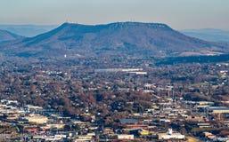Долина Roanoke и гора медника Стоковые Фото