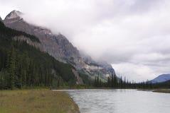 долина rockies saskatchewan канадского реки стоковые фото