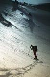 долина sambara конематки альпиниста отдыхая стоковое фото
