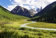 долина savlo Стоковое Фото