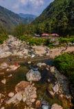 Долина Sepi, западная Бенгалия стоковое фото rf