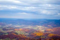 долина shenandoah осени Стоковая Фотография