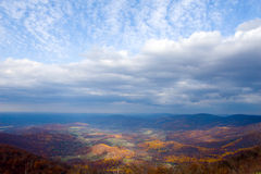 долина shenandoah осени стоковое фото rf
