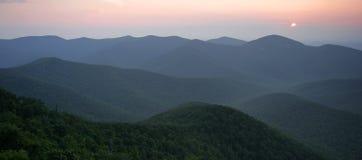 долина shenandoah панорамы Стоковые Фотографии RF