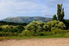 долина simferopol koba kizil Крыма Стоковая Фотография