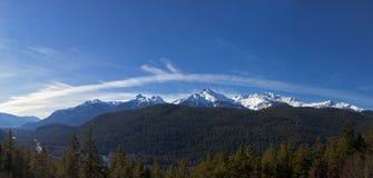 Долина Squamish (равнина потока) Стоковые Фото
