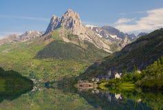 долина tena топи pyrenees lanuza Стоковое Изображение RF