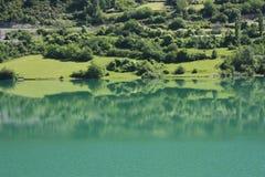 долина tena pyrenees озера Стоковые Фото