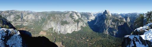 долина yosemite панорамы Стоковое Изображение RF