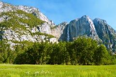 долина yosemite Стоковая Фотография