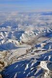 долина zealand otago воздушного birchwood новая Стоковое Изображение