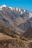 долины гор Стоковые Фотографии RF