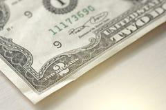 2 доллара с одним примечанием 2 доллара Стоковые Изображения