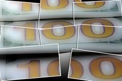 Долларовая банкнота валюты 100 США Стоковые Фотографии RF