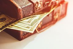 100 долларов кредиток Стоковые Изображения