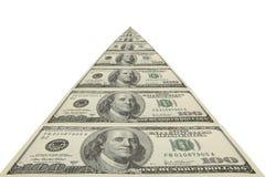 доллары бесконечного 100 путей Стоковые Фото