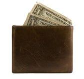 доллары бумажника Стоковые Фото