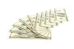 доллары вороха Стоковые Фото