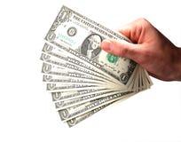 доллары дег Стоковое Фото