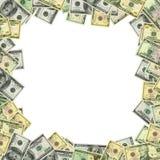 доллары клиппирования обрамляют заплату Стоковые Фото