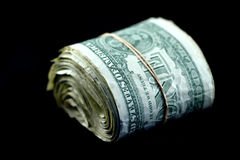 доллары крена Стоковое Изображение