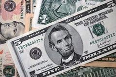 доллары кучи Стоковая Фотография RF