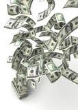 доллары летать Стоковое фото RF