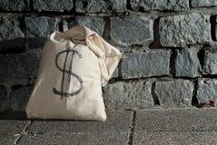 доллары мешка Стоковое Фото